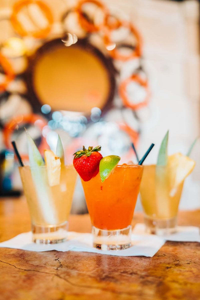 A few summery drinks